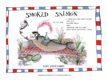 Smoked Salmon - signed print
